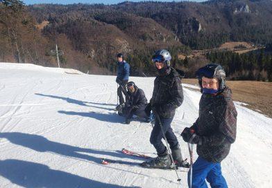 Miništrantská lyžovačka na Poráči