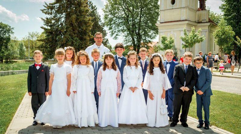 Slávnosť Prvého svätého prijímania 2020